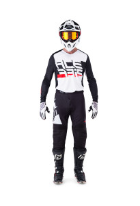 ACERBIS LTD OFF ROAD GEAR(JERSEY+PANTS) 2019 KAIRON BLACK/WHITE
