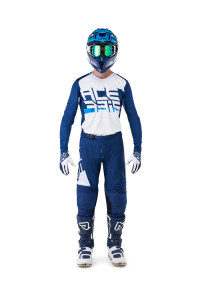 ACERBIS LTD OFF ROAD GEAR (jersey+pants) 2019 SASANSI BLUE/WHITE