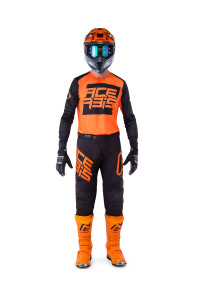 ACERBIS LTD OFF ROAD GEAR (jersey+pants) 2019 ARCTURIAN BLACK/ORANGE