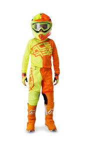 ACERBIS ECLIPSE KID OFF ROAD GEAR (jersey+pant) 2019 YELLOW/ORANGE
