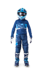 ACERBIS SOEN KID OFF ROAD GEAR (jersey+pant) 2019 BLUE