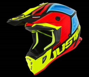 JUST1BLACK/YELLOW/RED/BLUE OFF ROAD J38 BLADE HELMET