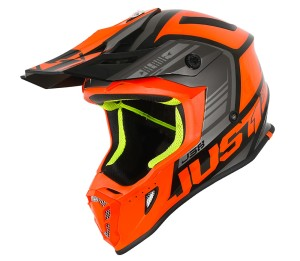 JUST1ORANGE/BLACK OFF ROAD J38 BLADE HELMET