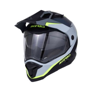 ACERBIS REACTIVE GRAFFIX BLACK-GREY  HELMET