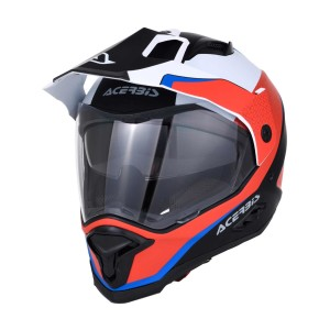 ACERBIS REACTIVE GRAFFIX RED-WHITE HELMET