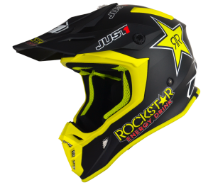 JUST1 J38 ROCKSTAR ENERGY DRINK OFF ROAD HELMET