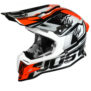 JUST1 CASCO OFFROAD  J12 DOMINATOR WHITE-RED