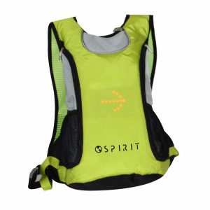 SPIRIT BACKPACK BIKES WITH BRIGHT SIGNALS AND DIRECTION INDICATIONS