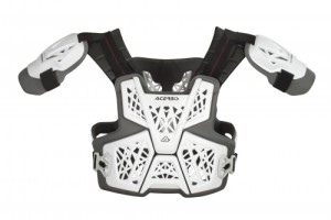 ACERBIS WHITE GRAVITY LEVEL 2 BODY ARMOUR