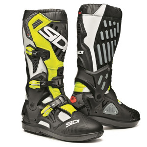 SIDI BLACK YELLOW FLUO ATOJO SRS OFFROAD BOOTS
