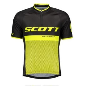SCOTT SHIRT RC TEAM 20 S-SL BLACK-YELLOW