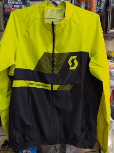 SCOTT JACKET RC TEAM 10 WB BLACK- SUL YEL