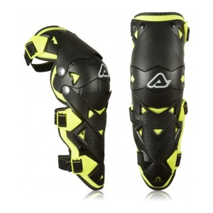 ACERBIS IMPACT EVO 3.0 KNEE GUARDS BLACK-YELLOW ONE SIZE