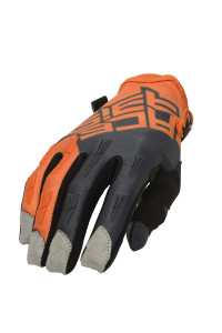 ACERBIS MX X-H GLOVES ORANGE-GREY