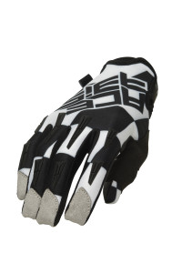 ACERBIS MX X-H GLOVES BLACK-WHITE