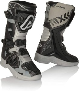 ACERBIS X-TEAM OFFROAD KID BOOTS BLACK-GREY