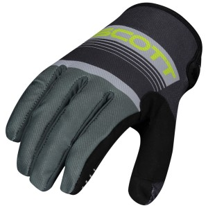 SCOTT 350 RACE GREY-YELLOW GLOVES