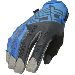 ACERBIS MX X-H GLOVES BLUE-GREY