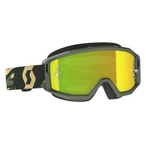 SCOTT MASCHERA PRIMAL CAMO KAKI  YELLOW CHROME WORKS