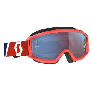 SCOTT RED-BLUE BLUE CHROME WORKS PRIMAL GOGGLE