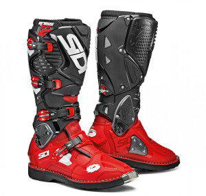 SIDI RED RED BLACK OFFROAD CROSSFIRE 3 BOOTS